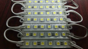 6LEDs SMD5050/5630 Pink Color LED Epoxy Module 75*12 Waterproof LED Module pictures & photos