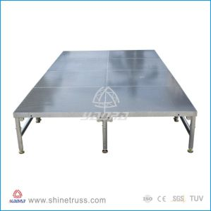 Used Stage Portable Aluminum Folding Stage pictures & photos