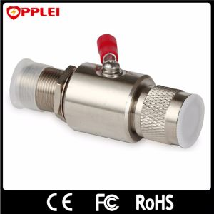 RoHS RF Male Surge Protector Gas Tube Arrester Antenna SPD pictures & photos