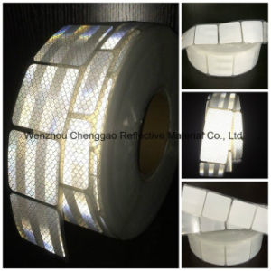 Pet Diamond Grade Micro Prism White Retro Reflective Tape pictures & photos