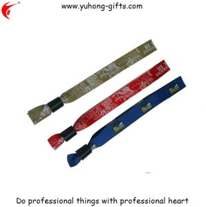 Fabric Bracelet Wristband for Promotion (YH-WW001) pictures & photos