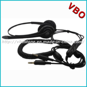 Professional 3.5mm DC Call Center Telephone Headset for Calling Center pictures & photos