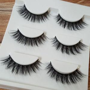 Makeup Tools False Eyelashes Natural Real Hair Handmade Lashes pictures & photos