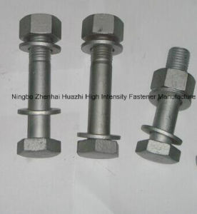 as 1252 Bolt Nut Washer Assembled Set HDG All Grade pictures & photos