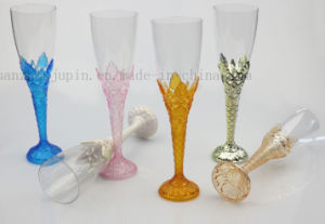 OEM Plastic Disposable Party Cocktail Champagne Goblet Cup pictures & photos