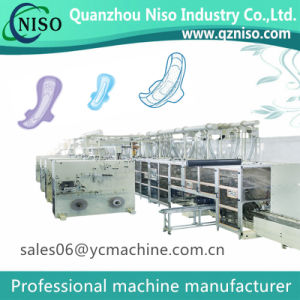 Sanitary Napkin Making Machine for Flushaway & Mibella Winged Pads pictures & photos