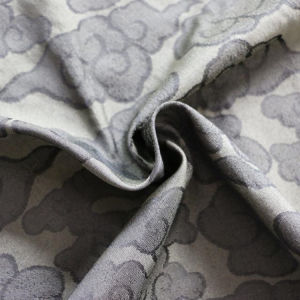 100% Polyester Good Quality Men Clothes/Men Jacket Jacquard Fabric pictures & photos