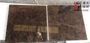 Natural Stone Flooring Emperador Dark From Spain Marble Tile for Building Material