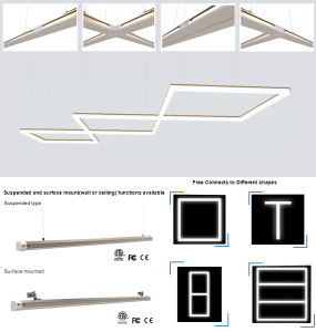 New Free Connection LED Linear Lighting Bar pictures & photos