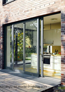 Germany Designed and Standard Aluminum Sliding Doors with Build Materials pictures & photos