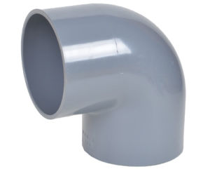 Building Material Plastic PVC Pipe 45 Degree Elbow pictures & photos