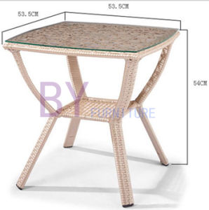 Wholesale Supply of Reliable PE Rattan Leisure Tables and Chairs Combination pictures & photos