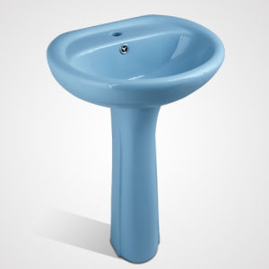 China Supplier Bathroom Furniture, Wash Ceramic Bathroom Basin