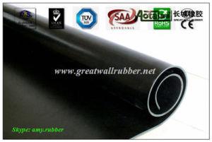 SBR+EPDM+NBR+Neoprene+Viton+Silicone Rubber Sheet Antislip Floor Mat Roll Flooring pictures & photos