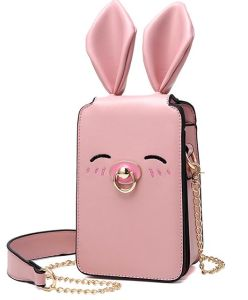 2017 New Telephone Pocket Bag Rabit Cartoon Lovely Crossbody Bag Hcy-5036 pictures & photos