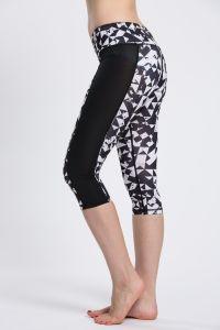 Gym Flex Leggings Women, Seamless Pants Fitness Sublimated Yoga Capris pictures & photos