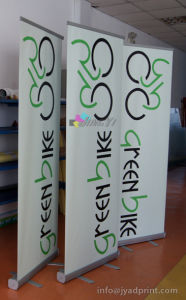 Steady Roll up Banner Stand with PVC VINYL graphic printing pictures & photos
