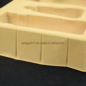 Yellow Manufacturers Custom Cosmetics Flocking Blister Packaging Tray pictures & photos