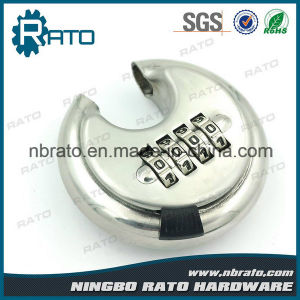 Round Combination Stainless Steel Disc Padlock pictures & photos
