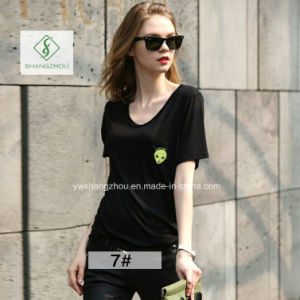 Tide Brand Cat Lovers All-Match Cheap Short Sleeved Fashion T-Shirt pictures & photos