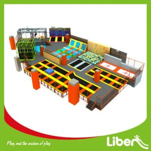 Liben Customized Commercial Kids Indoor Trampoline Park with Foam Pit pictures & photos