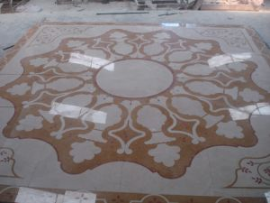 Mosaic, Water-Jet Medallion, Wajet-Jet Marble pictures & photos