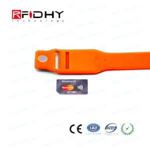 Most Recent Technology RFID Insert Card Wristband for Audience Intelligence pictures & photos