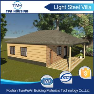 Tiny Portable Prefab Steel Villa House pictures & photos