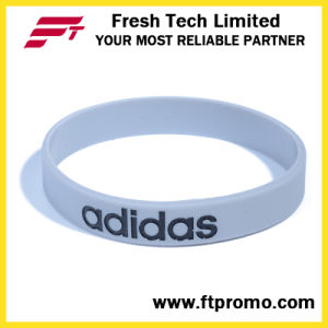 Customized Company Promotional Gift Silicone Wristband pictures & photos