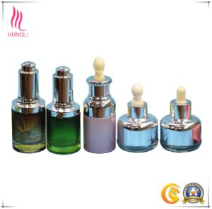 Luxury Printing Surface Handling and Refillable Essence Bottle with Dropper Wholesale pictures & photos