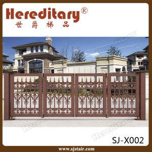 Decorative European Style Royal Villa Aluminum Main Gate pictures & photos