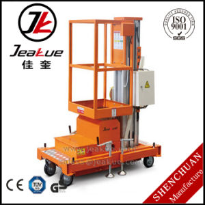Single Mast Aluminum Aerial Work Platform pictures & photos