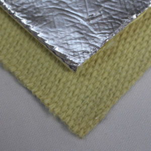 Thermal Protection Aluminum Coated Fiberglass Heat Reflective Fabric pictures & photos