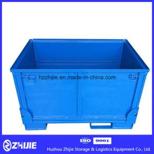 Heavy Duty Logistics Folding Steel Pallet Box for Sale