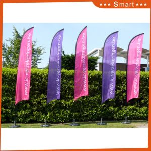 Promotional Usage Polyester Feather Flag pictures & photos