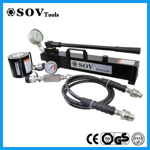 700bar Single Acting Low Thickess Lock Nut Hydraulic Jack (SV17Y) pictures & photos