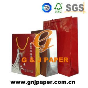 Great Quality Shopping Paper Bag with Customized Size pictures & photos