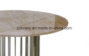 New Classic Style Dining Room Furniture Marble Top Table (LS-225) pictures & photos