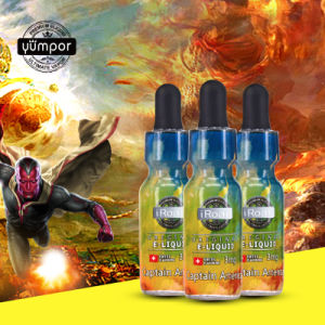 Yumpor The Avengers Series in 15ml Glass Bottles Eliquid pictures & photos