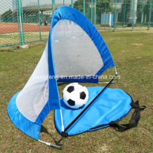 Cheap Price Tent Customization Soccer Gate Mesh Pop up Goal Tent pictures & photos
