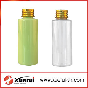 Pet Cosmetic Packaging Plastic Bottles with Flip Top Cap pictures & photos