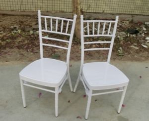 Cheap & Strong Metal White Tiffany Chiavari Chair for Wedding pictures & photos