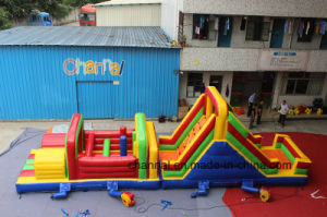 Exciting Amusement Games Inflatable Obstacle Interactive Game pictures & photos