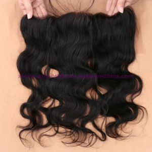 8A Grade Mongolian Human Hair Lace Frontal Closure 13X4 with Baby Hair Free Bleached Knots Virgin Body Wave Lace Frontals