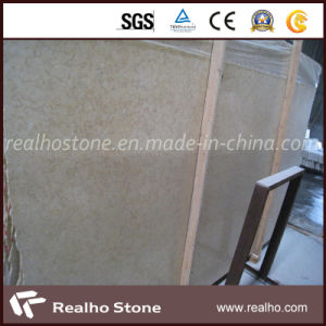 Selvia Golden Beige Marble Slab for Stairs pictures & photos