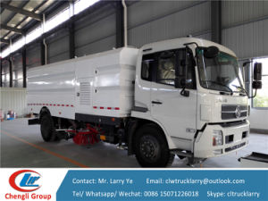 Dongfeng Water Tank and Dust Tank Road Sweeper pictures & photos