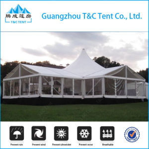 Factory 10m 12m 15m 20m Fashion High Peak Marquee Wedding Party Tent pictures & photos
