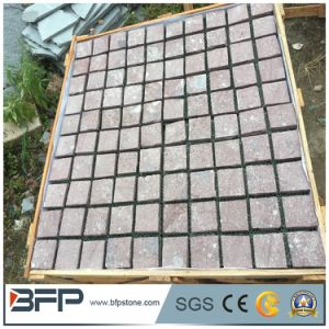 Natural Granite Flamed Cobble Stone for Outdoor Pavement pictures & photos