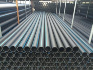ISO4427 Black Water Supply Plastic HDPE Pipe Fittings pictures & photos