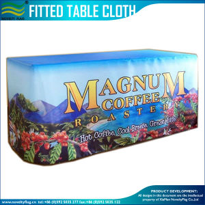 Custom Design Event Massage Advertised Trade Show Fitted Table Cover pictures & photos